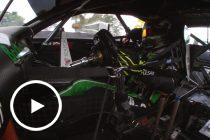 Onboard: Holdsworth tops Practice 2