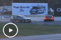 Courtney and Percat clash in Winton