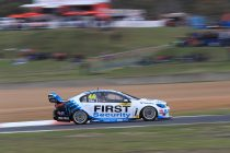 Pither fastest in drying final Super2 practice