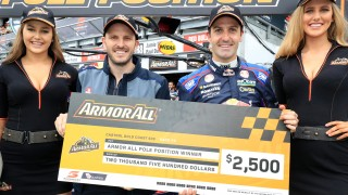 Whincup clinches pole