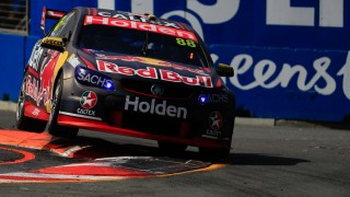 Dumbrell shows the way in co-driver session