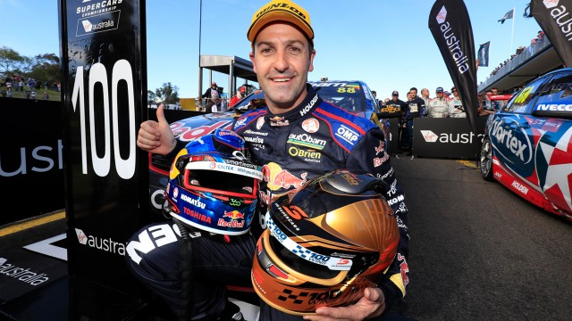 Ton up for Whincup