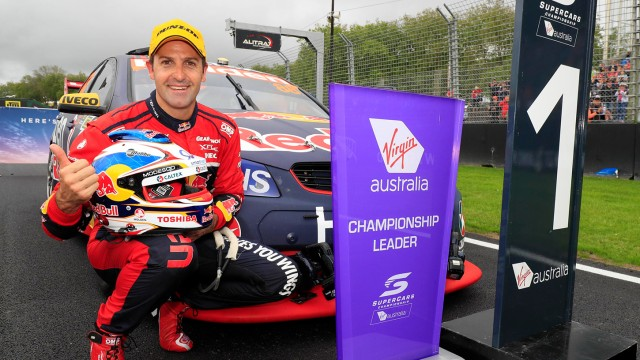 Whincup outguns McLaughlin to win JR Trophy