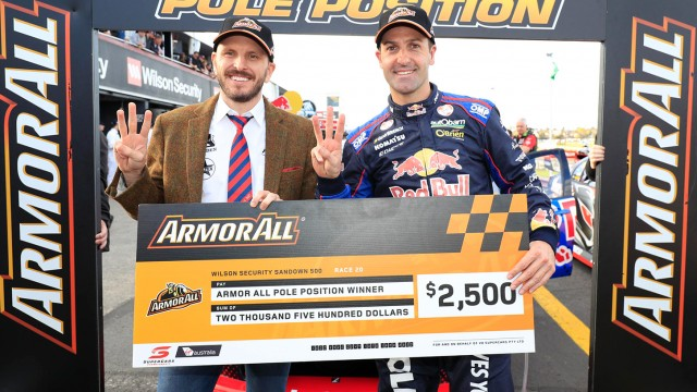 Whincup and Dumbrell secure pole