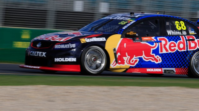Whincup's first Albert Park pole