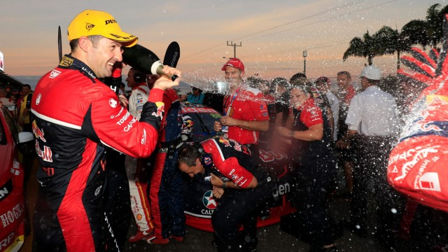 Whincup breaks drought with Race 14 victory