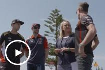 Drivers inspect Newcastle circuit