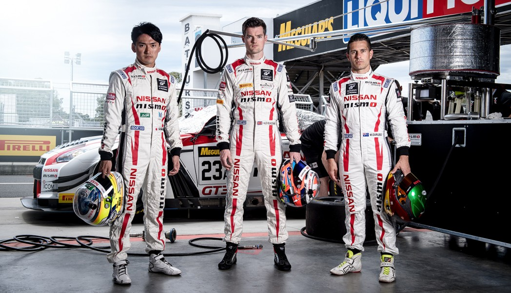 Chiyo joins Supercars star Michael and former Supercars enduro co-driver Buncombe for the 2017 Bathurst 12 Hour.