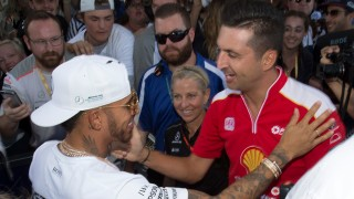 Fabian Coulthard, Lewis Hamilton reconnect