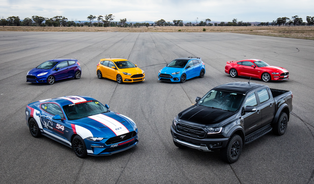 The complete Ford Performance line-up