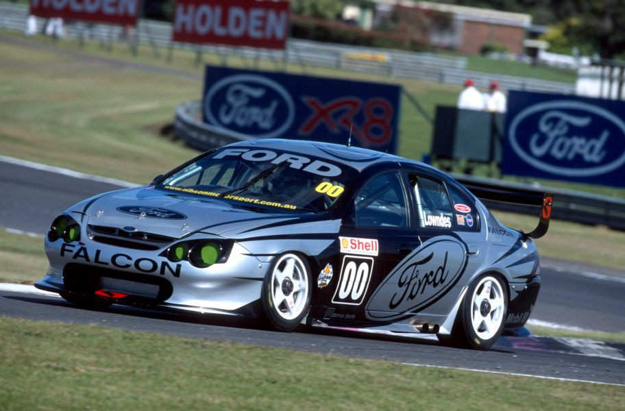Iconic Lowndes Falcon joins Bathurst tribute   Supercars