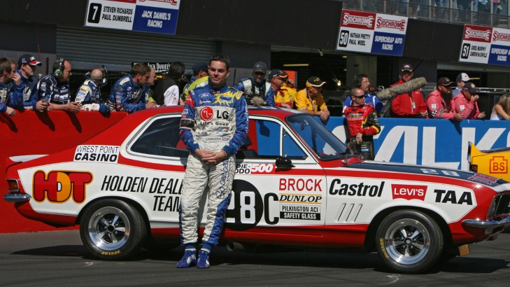 The modern day Peter Brock