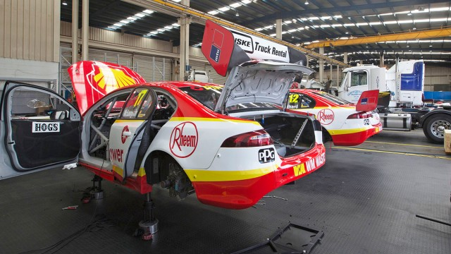 Shell Fords go on Easter holiday
