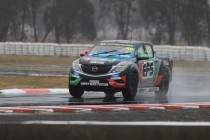 Harris fastest in wet Winton Practice 1