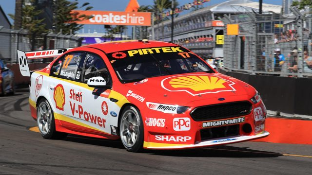 McLaughlin finishes Newcastle Friday on top