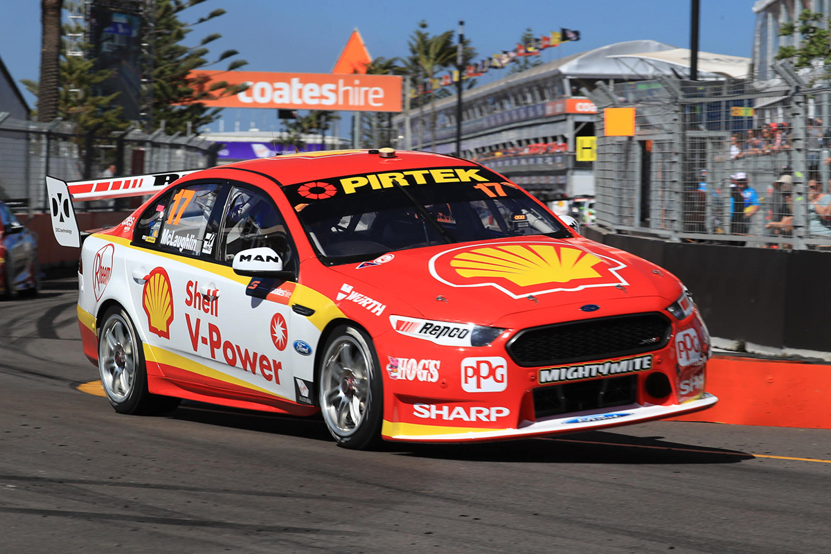 Mclaughlin Finishes Newcastle Friday On Top Supercars