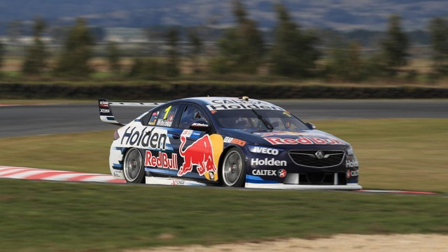 Whincup tops practice with record lap