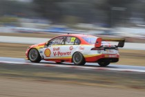 Coulthard fastest as Bamber stars