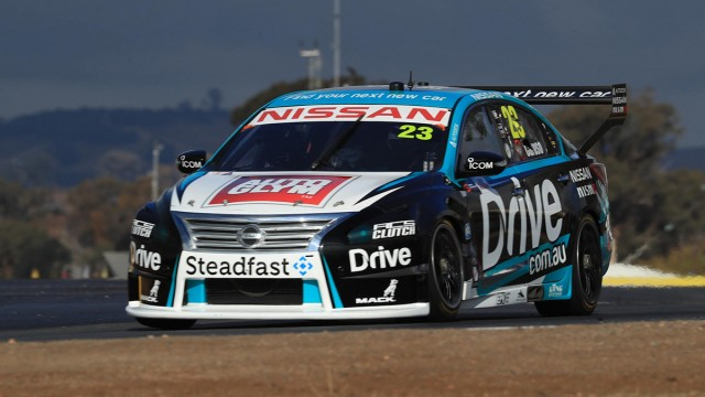 Nissan one-two in Winton practice