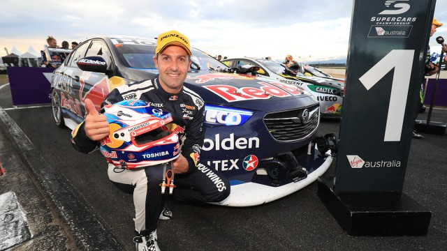 Whincup leads home Lowndes in Tassie