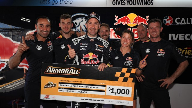 Whincup shades McLaughlin to Race 4 pole