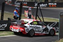 McLaughlin breaks record, Whincup crashes