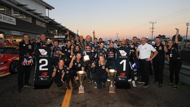Van Gisbergen wins Red Bull HRT fight