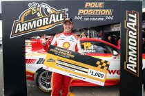 McLaughlin takes dominant PI pole, Whincup 17th