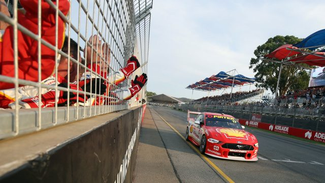 McLaughlin gives Mustang dominant win on debut