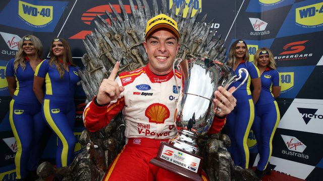McLaughlin wins action-packed PI opener