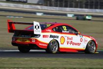 Coulthard fastest, Red Bull Holdens facing Q1