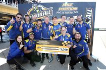 Winterbottom ends pole drought, Whincup spins