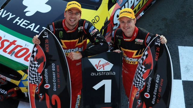 Mostert ends drought, McLaughlin takes points lead