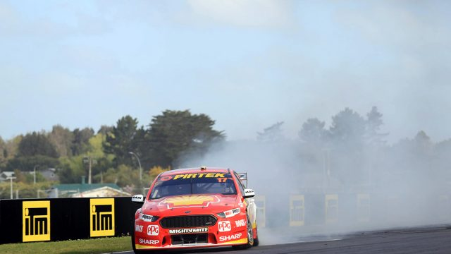 McLaughlin extends points lead with Pukekohe win