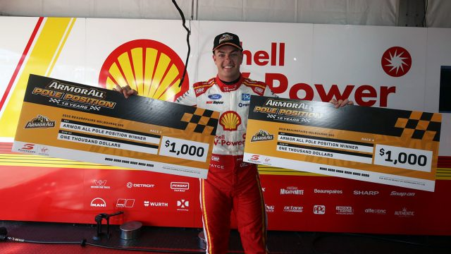 Albert Park pole double for McLaughlin