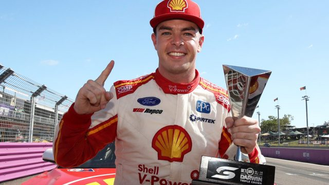 McLaughlin becomes first Triple Crown winner
