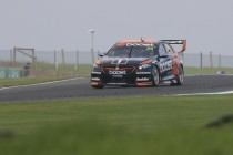 Courtney fastest, McLaughlin finds tyre trouble