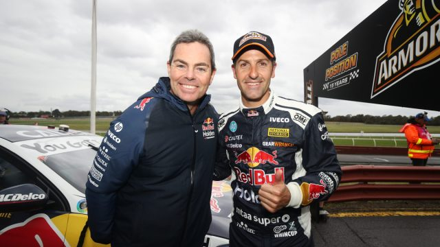 Whincup/Lowndes score Sandown 500 pole