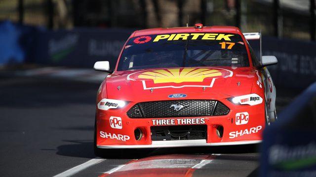 McLaughlin sets new Bathurst practice record