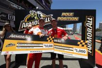 McLaughlin takes pole for Gold Coast opener
