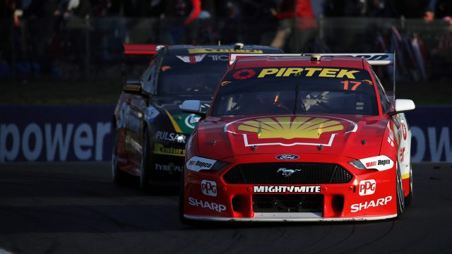 McLaughlin wins despite Shell Ford clash
