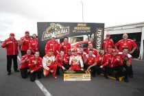McLaughlin takes pole with new lap record