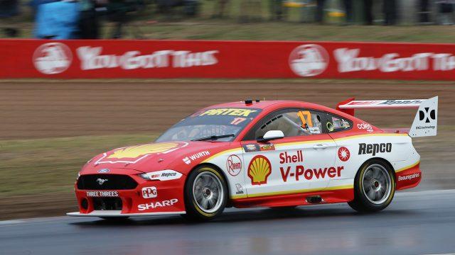 McLaughlin tops wet Bathurst qualifying