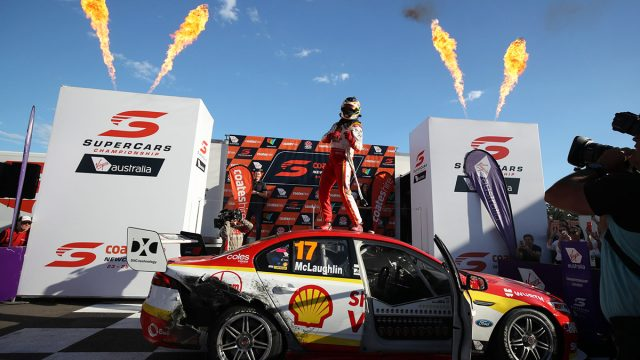 McLaughlin wins championship, Reynolds takes finale