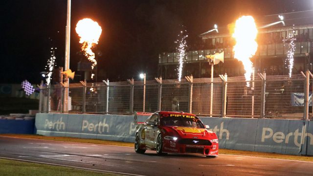 McLaughlin beats Whincup in Perth SuperNight