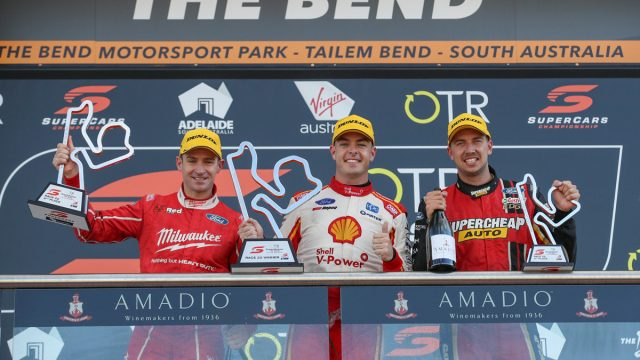McLaughlin equals Lowndes with 16th win
