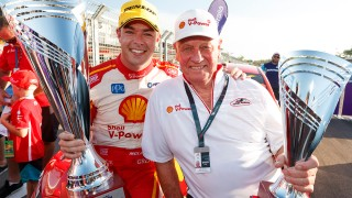 Dick Johnson celebrates Supercars century