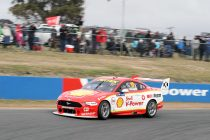 McLaughlin shades van Gisbergen in final practice