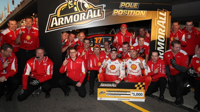 Shell Fords to share SuperNight front row