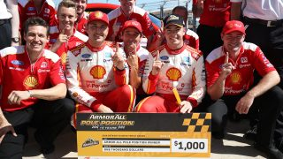 McLaughlin snatches Darwin pole from Coulthard